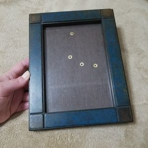 Other - Rustic Blue Frame With Corner Accents